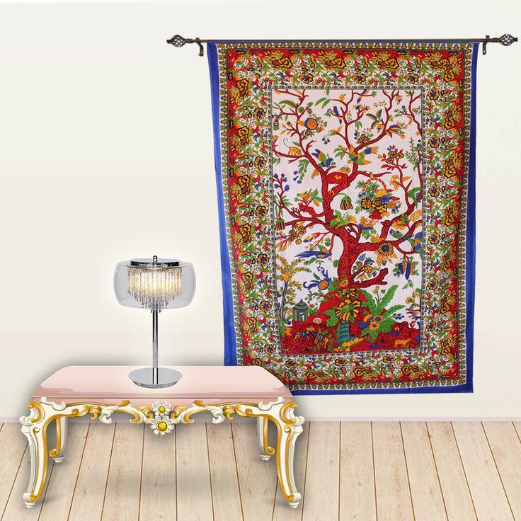 Get beautiful wall tapestry online on handicrunch.  #walltapestry #homedecor #walldecor #wallhanging #tapestry