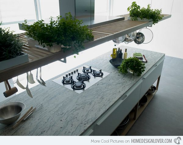 The River White/Thunder White granite kitchen countertop is stunning. Visit globalgranite.com for your natural stone needs.