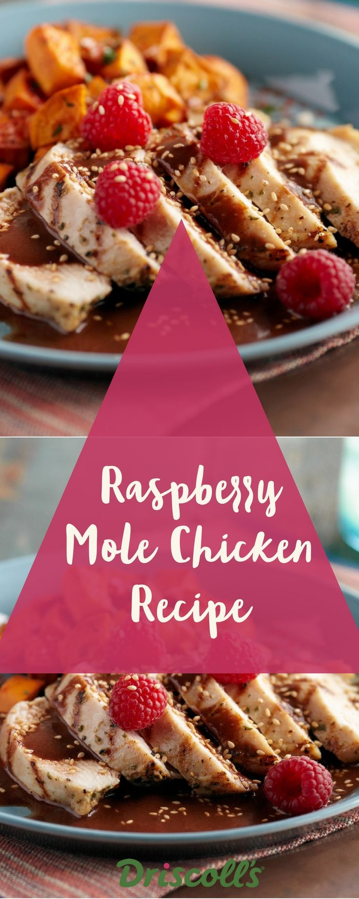 Mole is a Mexican sauce traditionally made with chili peppers. Our raspberry mole recipe is enriched with three types of chilis, chocolate, walnuts and cloves. Serve over grilled chicken or pork.