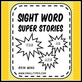 Sight Word Super Stories