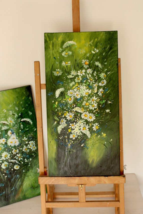 Green summer II by BarbaraGallery on Etsy