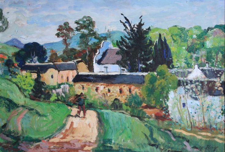 François Krige (1913-1994) 'A view of Mamre'