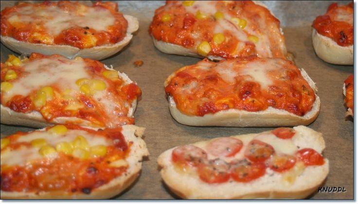 Was cookst Du heute: Pizza Brötchen - die schnellen