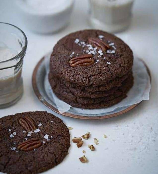 Glutenfria mjuka chokladcookies