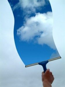 Commercial window cleaning -