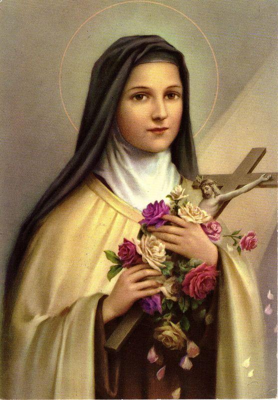 ST THERESE OF LISIEUX TATTOO | La Neuvaine à la rose de Ste Thérèse de lEnfant Jésus -