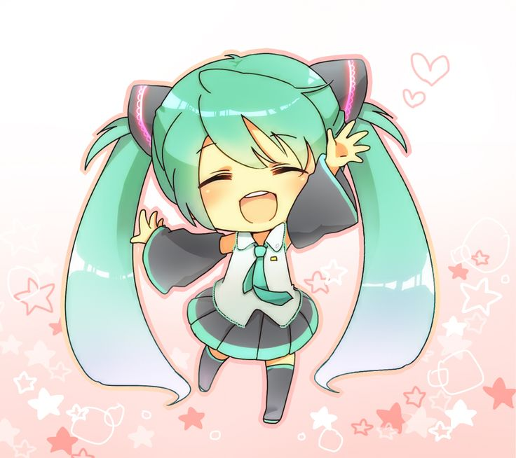 292 best images about hatsune miku on pinterest so - Cute anime miku ...