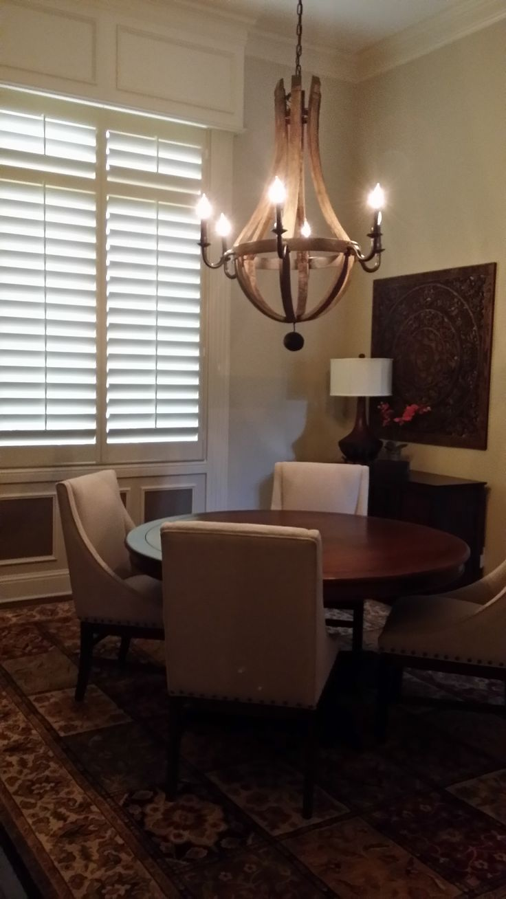 57 best dining rooms window coverings images on pinterest