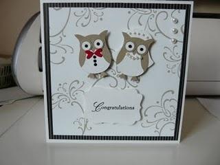 awww owl card