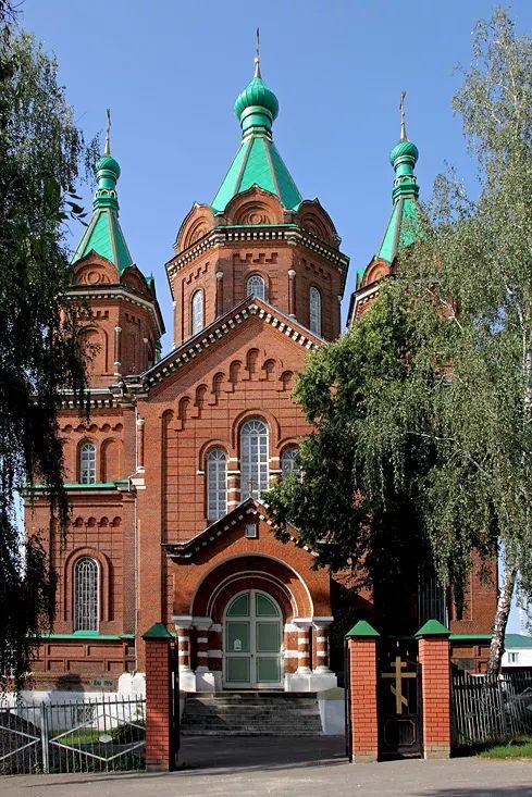 Trinity Cathedral. Zadonsk