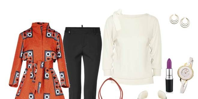 Idée de look - Trench rouge Stella Jean - Pagnifik