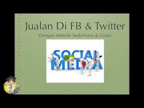 Cara Jualan di Facebook + Twitter mudah & Gratis - Beken.id