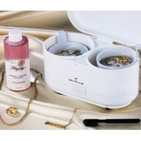 Hagerty Deluxe Sonic Jewelry Cleaner; Uses a non-toxic solution and sonic wave technology to get all your jewelry sparkling clean in minutes---really works!