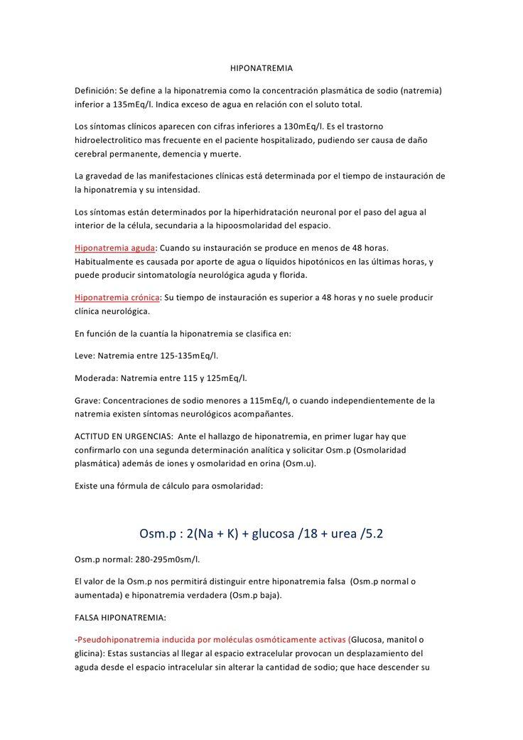 hiponatremia-13609387 by Jimmy Bonilla via Slideshare
