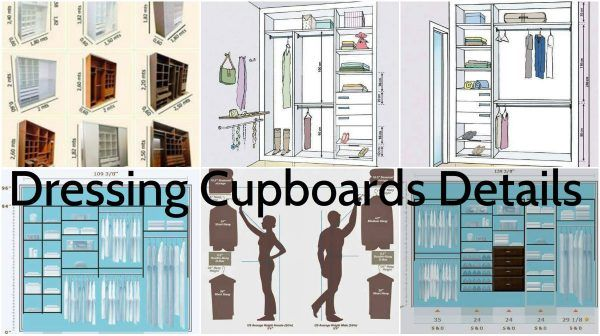 The functional cupboard is what we all need – especially women(Functional Dressing Cupboard Detailed Designs). We are always short with space and we always need another shelf extra for the shoes. But, actually we need a solid organization in it and a smart arranging of all the clothes we need to put inside. There are many designs of a dressing cupboards that will fit in different sized room and for different needs.