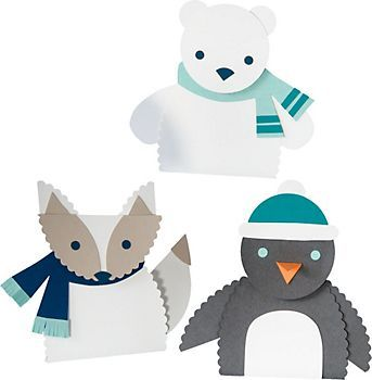 Arctic Animals Kit -- thanks, @April O'Connor for the heads up on these adorable characters!