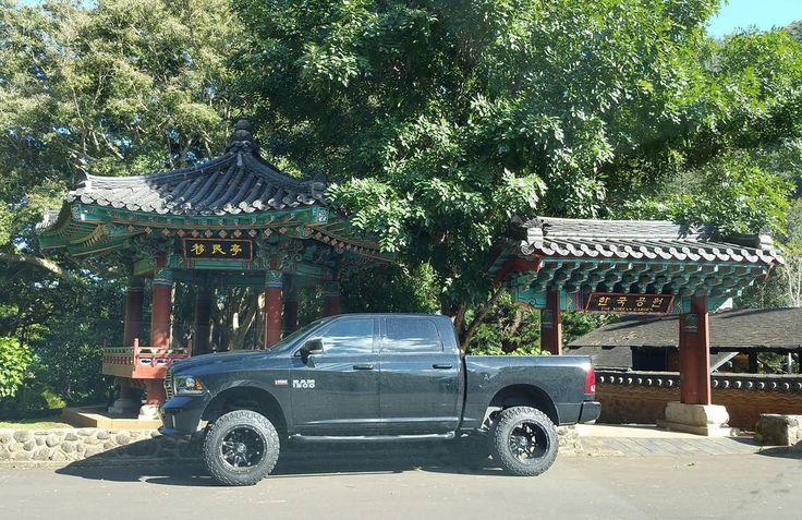 Nice Ram 1500 with a Hemi!  #protecautocare #engineflush #dodge #ram #1500 #hemi #v8 #horsepower #custom #black #rims #bigtires #tinted #black #pickup #truck #carrepair #custom #nofilter #followus