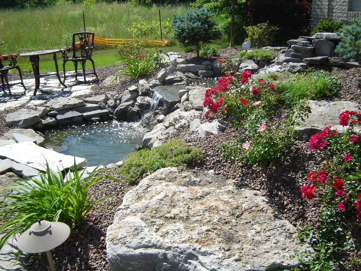 14 best landscape images on pinterest landscaping ideas for Waterfalls for ponds for sale