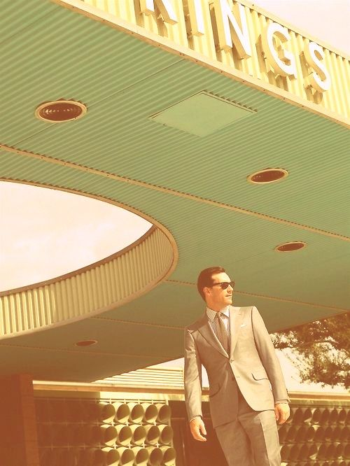 don draper Mad Men  From begining to end it is so good