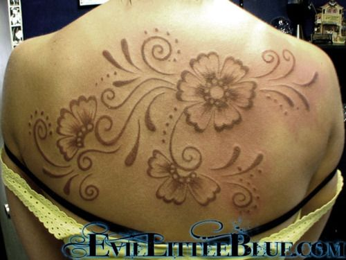 43 best passion flower tattoo images on pinterest for Real henna tattoo