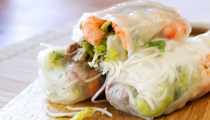 Home-Style Spring Rolls