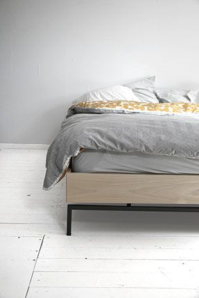 Tulip twins, Fictional Objects duvet cover design, wood, metal, minimal and grey scale. Collaboration http://www.lisamalousmits.nl together with http://jannontwerp.nl
