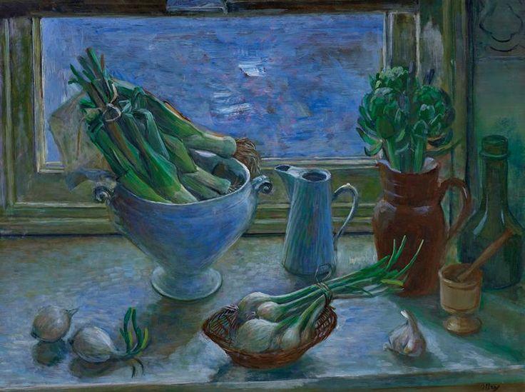 Evening Still Life (1976),  Margret OLLEY