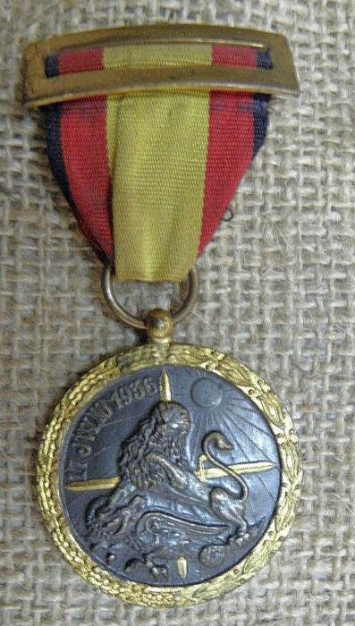 op 17 juli 1936  17 juli 1936 Spaanse decoratie uit de burgeroorlogLeve SpanjeEU verzenden door UPS  EUR 20.00  Meer informatie
