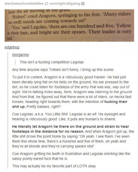 I love Lord of the Rings
