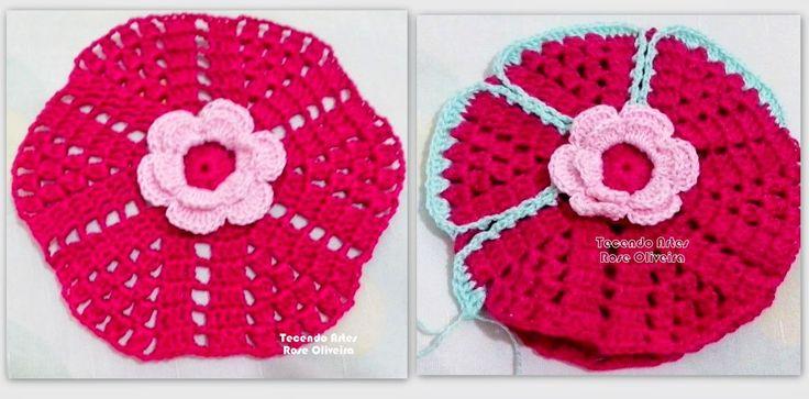 Tecendo Artes em Crochet: Pegador de Panelas Vintage.