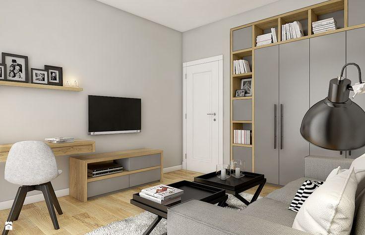 Dom w Milanówku - zdjęcie od WERDHOME - Biuro - Styl Skandynawski - WERDHOME
