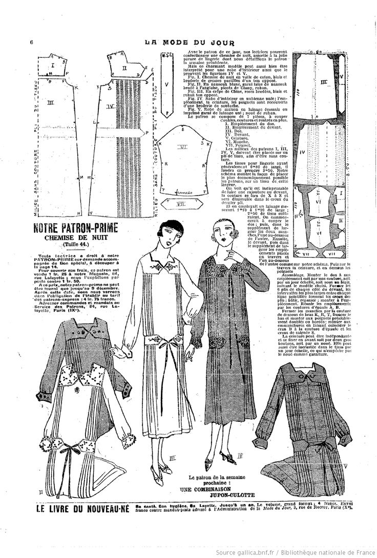 88 best 1920s Patterns From French Ladies' Magazines