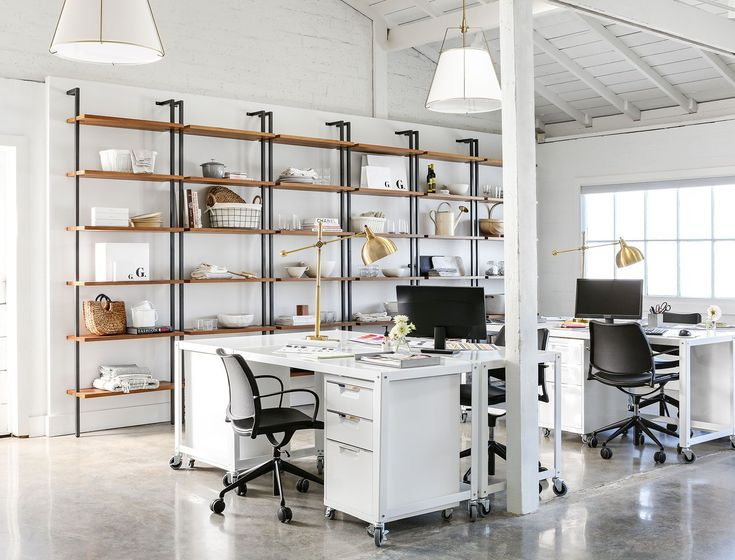 A clean cutting edge office extension for goop home officeoffice decoroffice