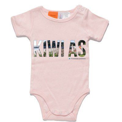 Kiwi As Baby Clothing - Pink One Piece