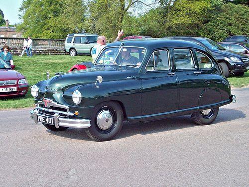 345 Standard Vangaurd Phase 1 1952 Cars British Car