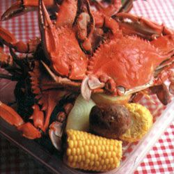 Crab Boil Recipe - Saveur.com  As with most dishes from South Louisiana, there are many methods of preparing boiled or steamed seafood—and they're all good. One of the easiest and most common is to simply use a premixed bag or bottle of crab boil, but we like this Acadian recipe.