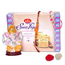 Rakhi Hamper with Ganpati Blessings
