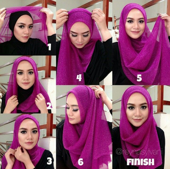 Nice tutorial hijab