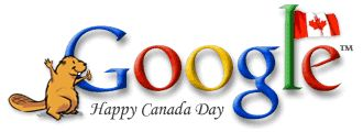 Canada Day Google Logo, This year and Previous Years