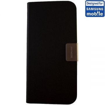 Husa Anymode Folio Frame Neagra iPhone 5