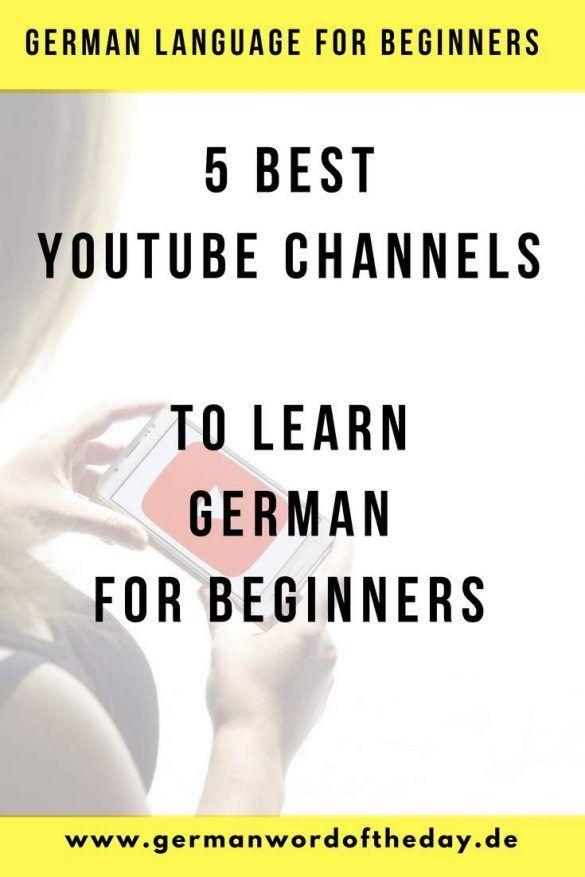 learn german online free for beginners youtube