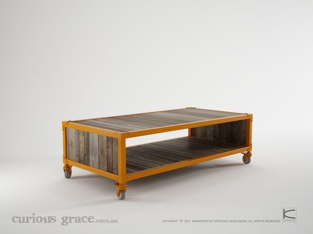 Curious Grace Workshop Coffee Table