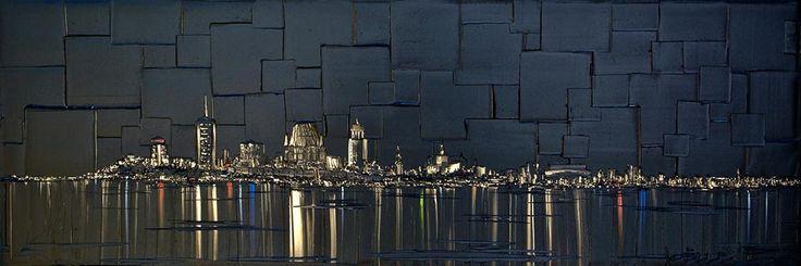 Somptueuse par Joëlle Blouin, artiste présentement exposée aux Galeries Beauchamp. www.galeriebeauchamp.com