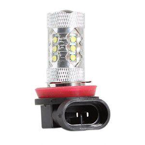 Rupse 80W 6000K 800lm LED Phare de Voiture H8 Feux Anti-Brouillard Avant Haute Luminosité Universelle: Caractéristiques du produit:…