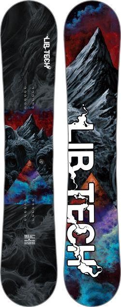 Lib Tech Men's TRS-Horsepower C2X Snowboard  157 Cm Wide