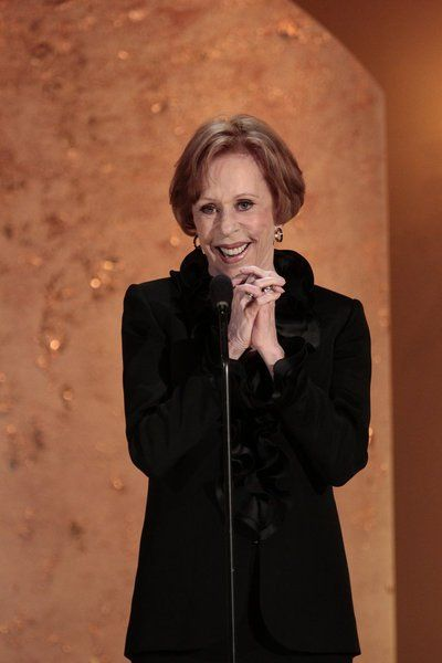 """Only I can change my life. No one can do it for me."" ~Carol Burnett    Picture: Still of Carol Burnett in Betty White's 90th Birthday: A Tribute to America's Golden Girl"