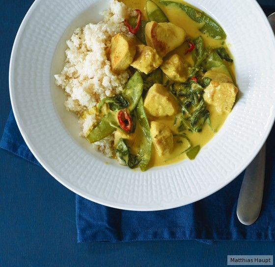 Die Low Carb-Sensation: Blumenkohl ist der neue Reis. Unbedingt probieren! (10 g Kohlenhydrate p.P.)