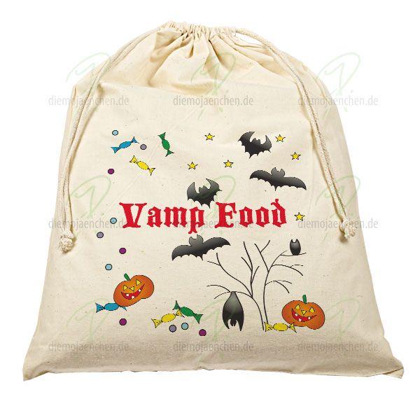 Halloween-Beutel für Deine sammelfreudigen kleinen Geister und Gespenster. Und was brauchen sie für ihre Süßigkeiten? Groooße Sammelbeutel!