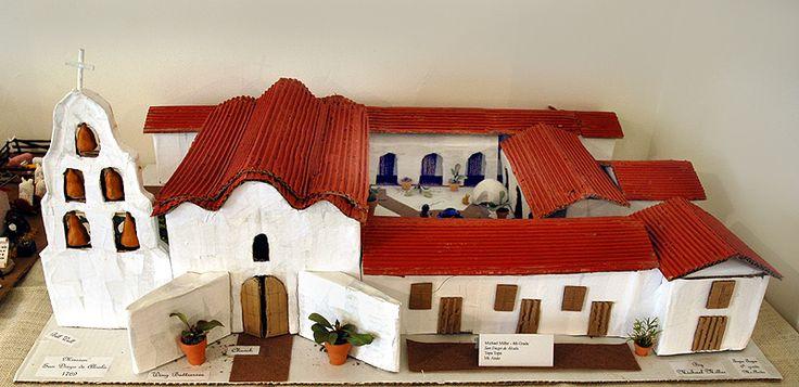 layout of the san diego mission | San Diego de Alcala ...