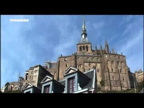 Merveilles du monde - Le Mont Saint-Michel, France